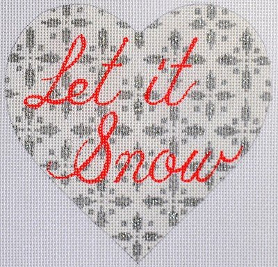 Let It Snow - Canvas Only