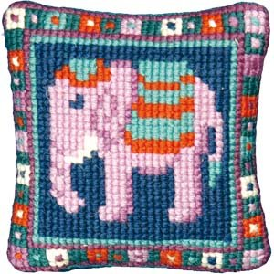 Little Elephant Needlepoint Tapestry Kit