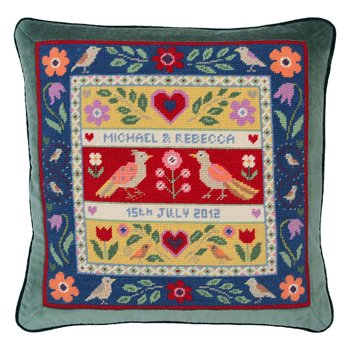 Love Birds Needlepoint Kit