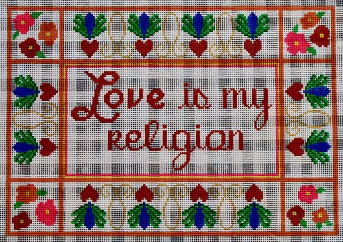 Love is my Religion - Canvas Only