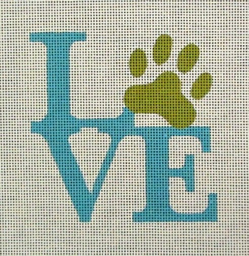 Paw Love - Canvas Only