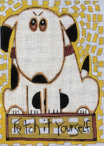 Maggie Needlepoint<BR>Fetch It Yourself - Canvas Only
