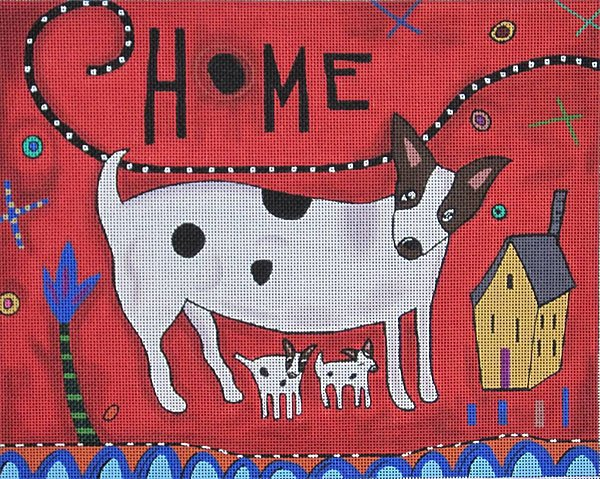 Maggie Needlepoint Home - Canvas Only