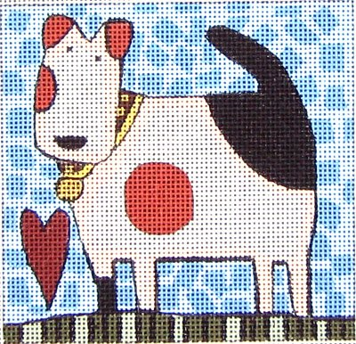 Maggie Needlepoint<BR>Loyal and True - Canvas Only