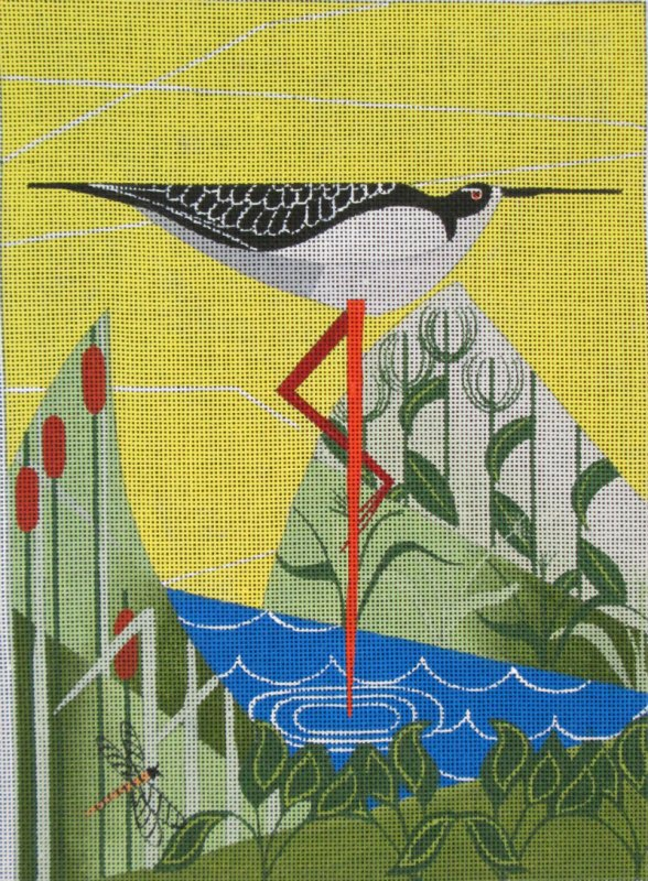 Maggie Needlepoint<BR>Stilt - Canvas Only
