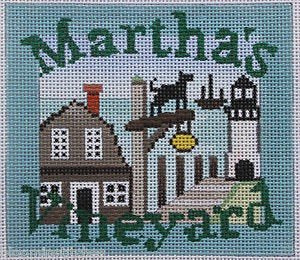 Martha's Vineyard Needlepoint - Canvas Only