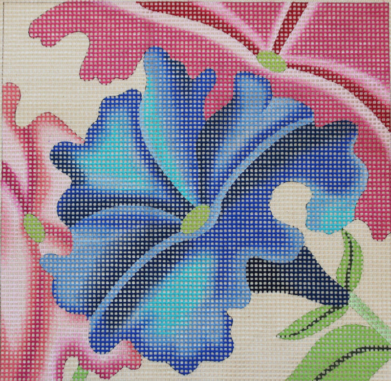 Morning Glories Easy Stitch Needlepoint
