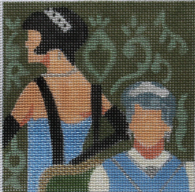 Downton Abby Coaster - Lady Mary & the Dowager