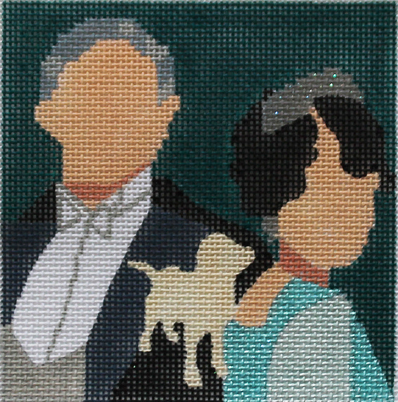 Downton Abby Coaster - Lord & Lady Grantham