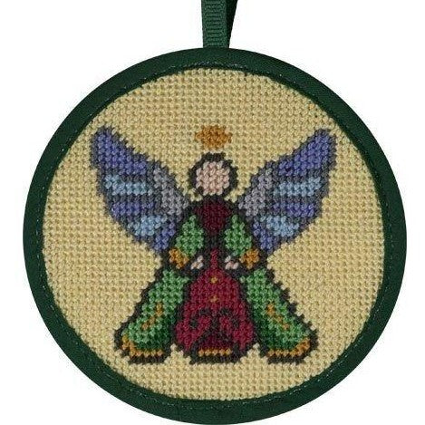 angel needlepoint christmas ornament kit by Stitch ups
