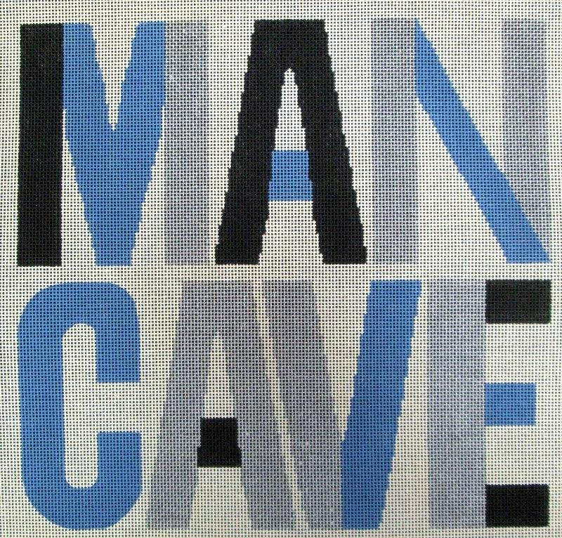 Man Cave Needlepoint - Canvas Only
