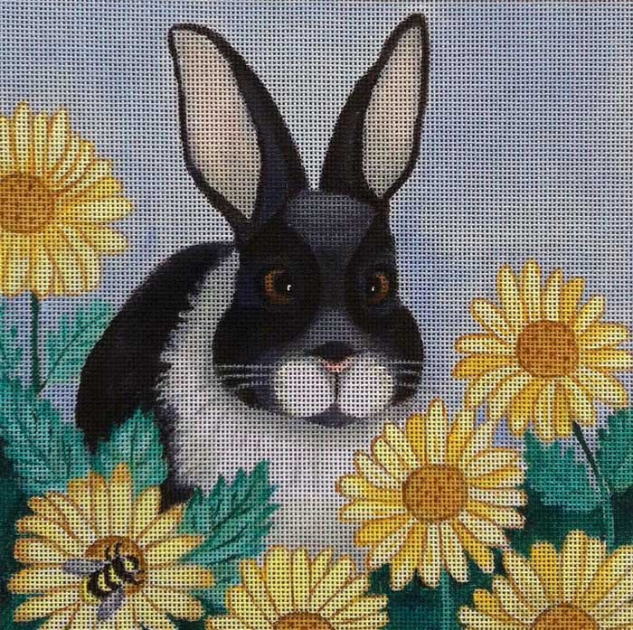 Nenah Stone Needlepoint<BR>Spring Visitor - Canvas Only