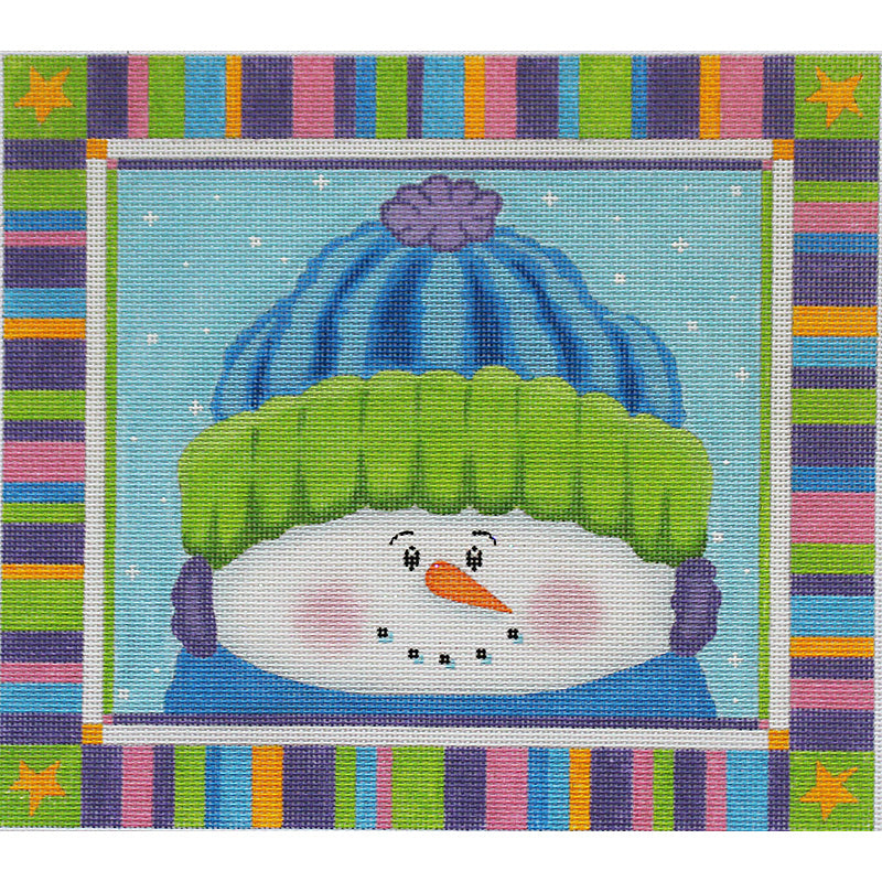 Max the Snowman by Pepperberry Designs with stitch guide*
