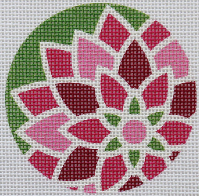 Pink Graphic Flower by Pepperberry Designs