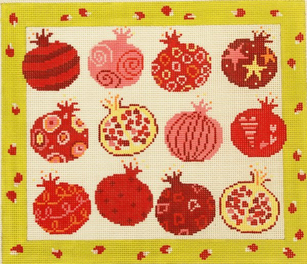Pippin Studio Pomegranates - Canvas Only