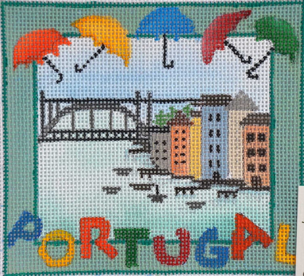 Portugal Needlepoint - Canvas Only