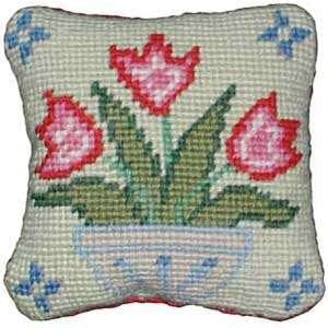 Primavera Vase of Tulips pincushion kit