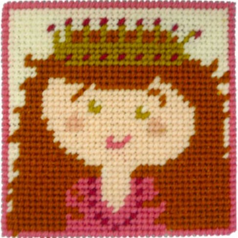 Kids Needlepoint Kit Princess