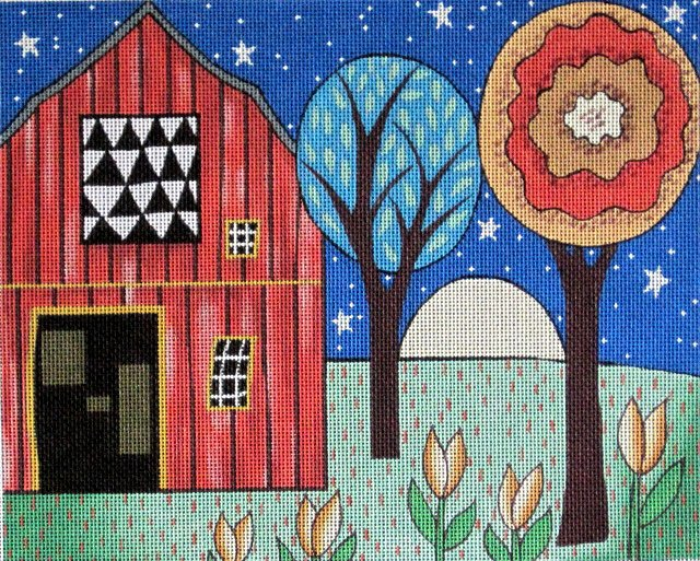 Quilt Barn - Canvas Only