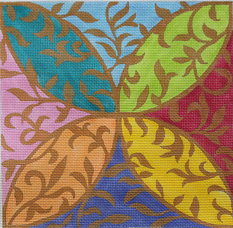 Leafy Arabesque by Sally Corey