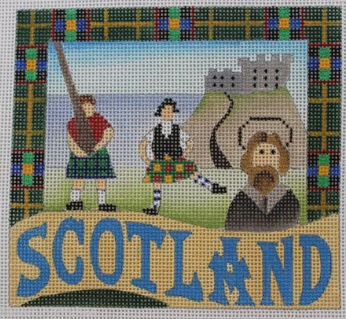 Scotland Needlepoint - Canvas Only