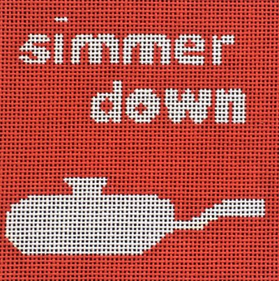Simmer down - Canvas Only