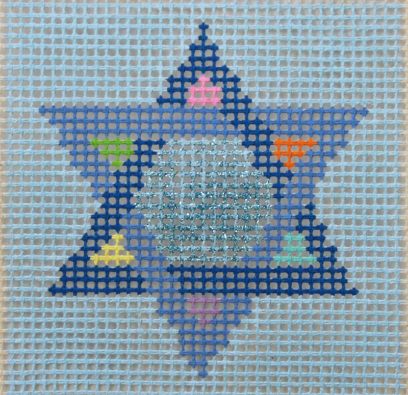 SL-36 - Stitchin' Littles Kit David's Star