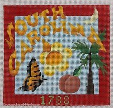 South Carolina Needlepoint - Canvas Only