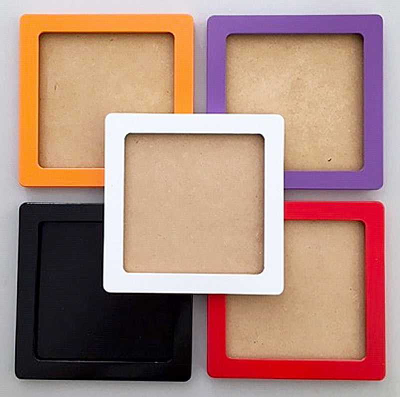 "Colorful 3"" x 3""  Frames for Your Needlepoint"