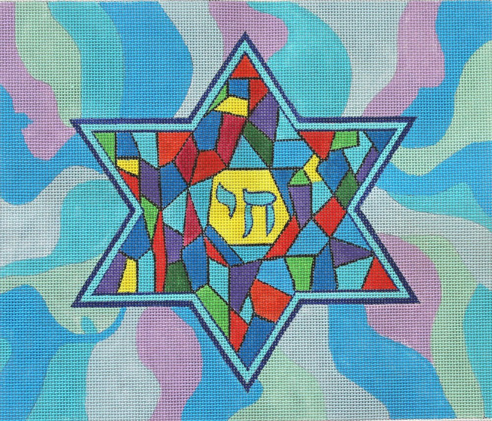 Tallis Star of David - Canvas Only