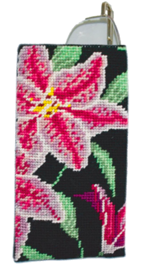 Needlepoint Eyeglass or Phone Case Kit Stargazer