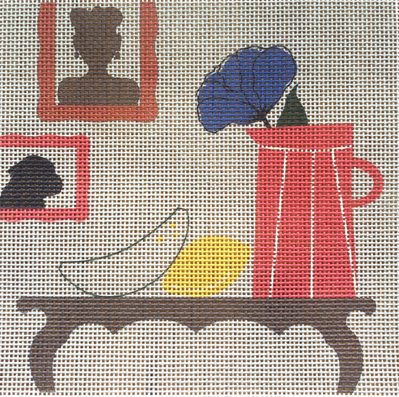 Modern Still Life Portraits Needlepoint Kit