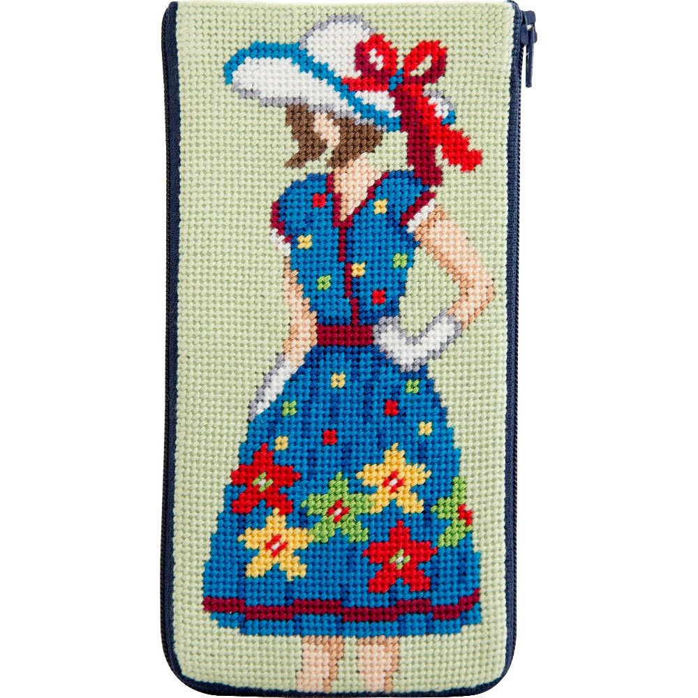 Stitch & Zip Eyeglass Case Mod Maggie