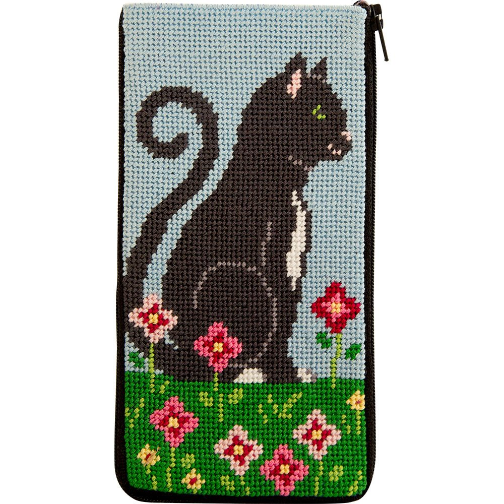 Stitch & Zip Eyeglass Case Purrfect NEW!