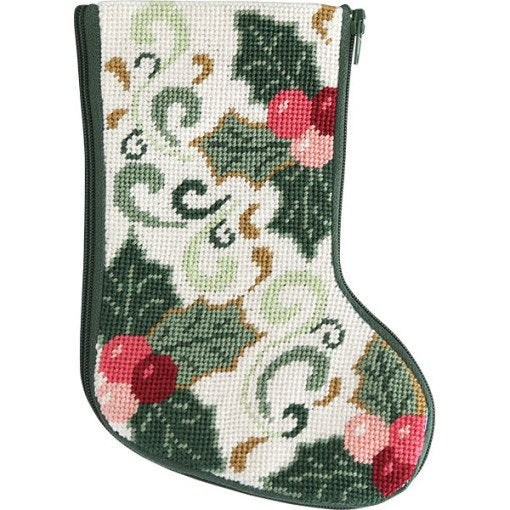 Needlepoint Mini Stocking Kit Della Robbia