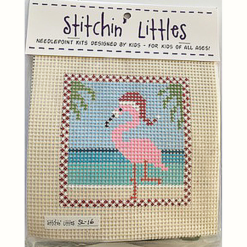 SL-16 - Stitchin' Littles Kits Flamingo Fun