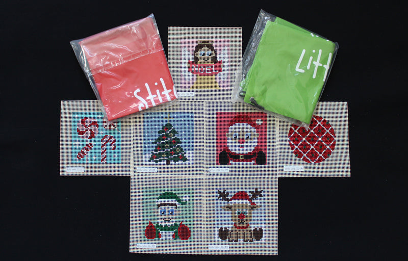 SL-35 - Stitchin' Littles Snowy Christmas