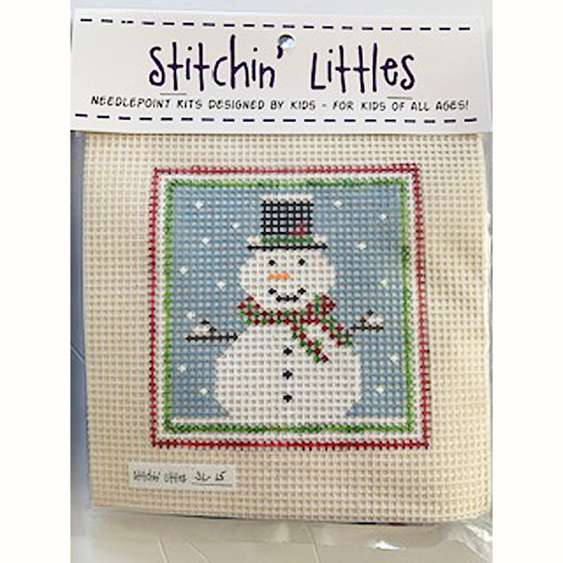 SL-15 - Stitchin' Littles Kits Snowman