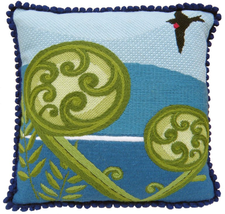 Koru Contemporary Needlepoint Kit