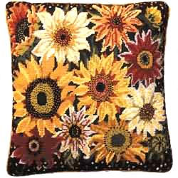 Sunflower Harvest Primavera Needlepoint