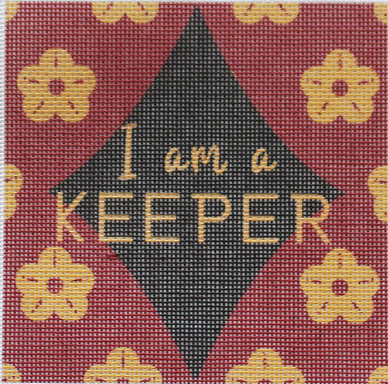 I'm a Keeper Needlepoint Kit