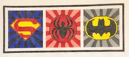 Superhero Emblems - Canvas Only
