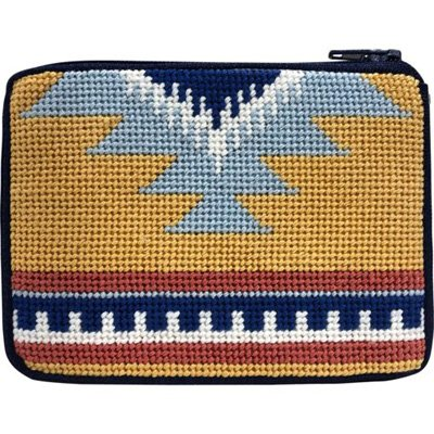 Stitch & Zip Coin Purse South Western