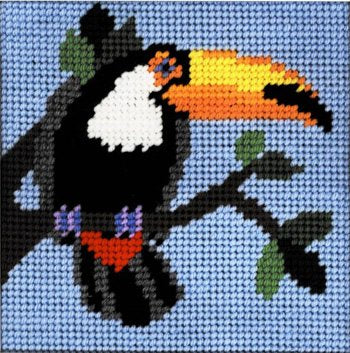 Beginner Needlepoint Kits Tucan