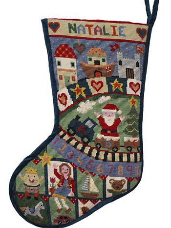 Toy Box needlepoint stocking kit - copy