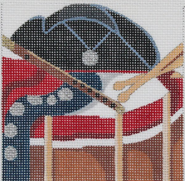 Colonial needlepoint by Melissa Prince