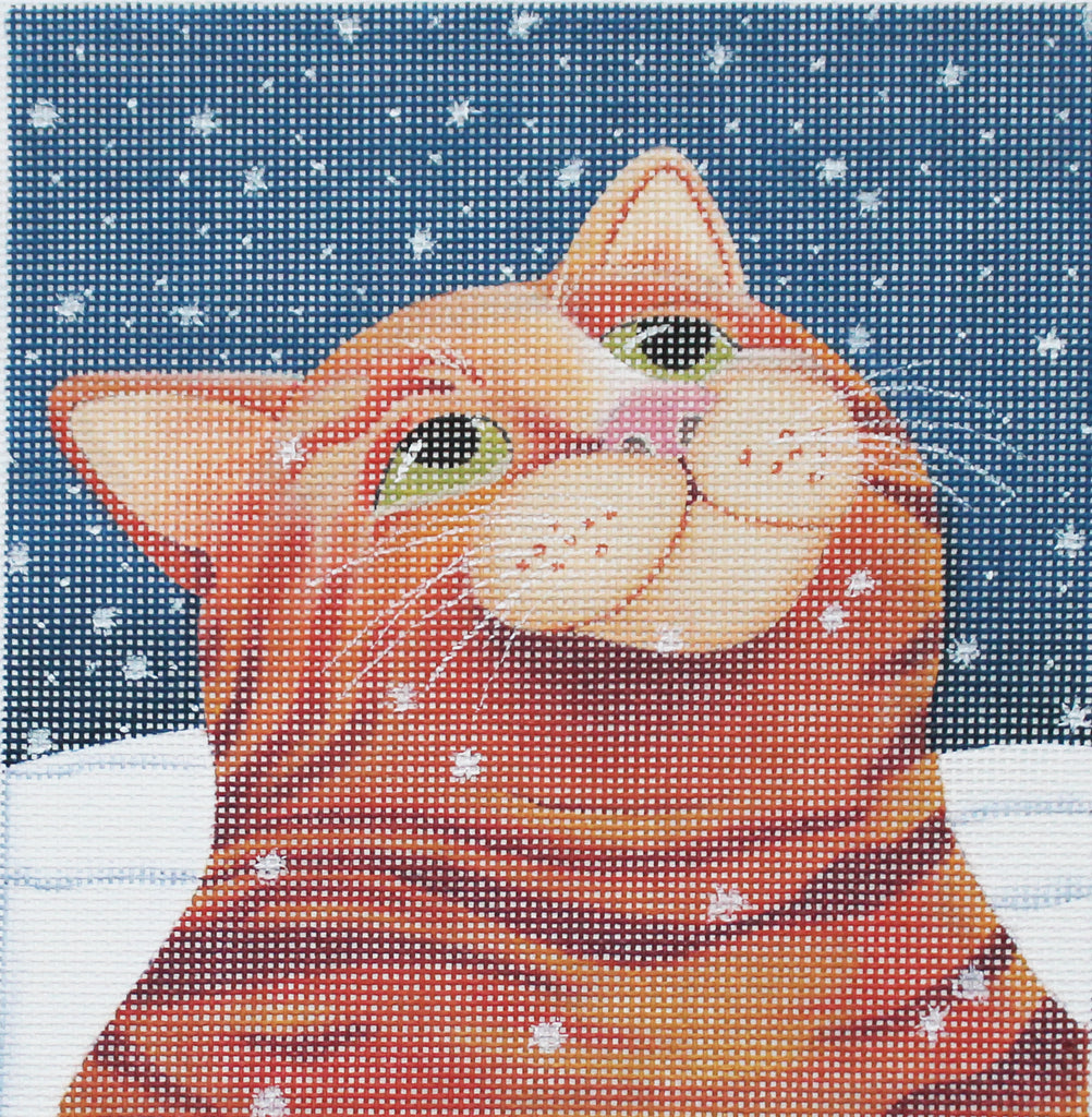 Vicky Mount Needlepoint Ginger Snow