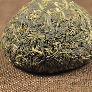 "2005 XiaGuan ""Jia Ji"" (1st Grade-Old Package) Tuo 100g Puerh Sheng Cha Raw Tea - King Tea Mall"