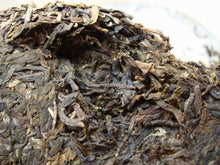 "Load image into Gallery viewer, 2009 DaYi ""69 Zhou Nian Chang Qing"" (69th Birthday of Menghai Tea Factory) Cake 357g Puerh Sheng Cha Raw Tea - King Tea Mall"