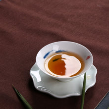 Load image into Gallery viewer, Dehua White Porcelain Gaiwan 140cc / Strainer / Pitcher 200cc / Tea Cup 60cc, KTM007